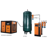 Dirigir o Ce conduzido dos compressores de ar de Oilless (22kw-185kw)