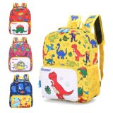 2019 Nova Lista dinossauro a Impressão de desenhos animados Kids Backpack bag para o pré-escolar
