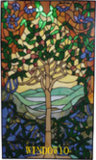 El panel de Tiffany (WINDOW10)