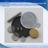 Filtro de disco do conjunto de aço inoxidável