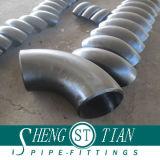 Los codos de colocación del tubo de acero al carbono