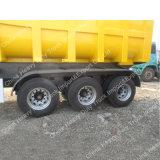 Caixa de carga forte Sinotruk 60 toneladas de despejo de Mineração semi reboque