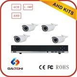 4CH CCTV 720p Bullet Kits caméra Ahd