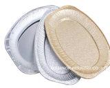 Bandeja disponible del descortezamiento de la parrilla del Bbq del papel de aluminio