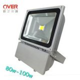 Lumens élevé DEL Flood Light 80-10W IP65