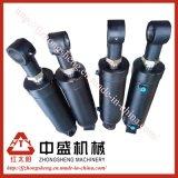 1) Cilindro hidráulico para el cilindro del precio de MachineryCompetitive de la construcción