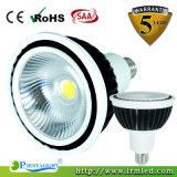 LED de qualidade Spot Lâmpada Via 15W PAR38 Luz de LED
