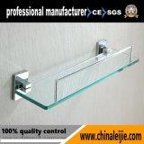 Аксессуары для ванной комнаты высокого качества в стену стеклянные полки