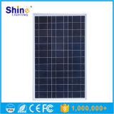 comitato solare di alta efficienza di prezzi competitivi 50W poli per illuminazione domestica