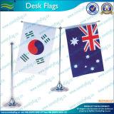Bureau d'un drapeau pour le plastique et de la base de pôle (b-NF09M05007)