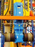 Guindaste de empilhador automático do uso do armazenamento