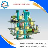 Nouvelle conception de la Volaille Poulet Animal Feed Mill Line