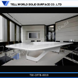Modern Style Office Furniture Artificial Stone Office Meeting Table Design