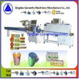 A bebida engarrafa a máquina de embalagem automática do Shrink (SWC-590+SWD-2000)