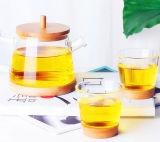 Het Theestel van het Glas van de Pot van het Water van het Glas van het Ontwerp van de manier