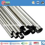ASTM 201/202/304/304L/316L/310S com tubos de aço inoxidável sem costura SGS