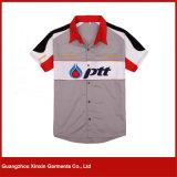Camisas baratas impressas com dois tons (S86)