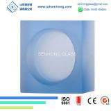 Rimuovere il mattone di vetro trasparente solido glassato per la parete di vetro