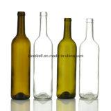 Bottiglia di vino di vetro del Bordeaux con altezza 300mm, bottiglia di 323mm