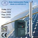 4sp2/55-3.0遠心深い井戸浸水許容の太陽ポンプ