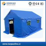 Tenda esterna blu di rilievo laminata PVC del bene durevole