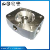 Usinage de commande numérique par ordinateur de précision en métal d'OEM/pièces de machine à coudre de rotation/tour