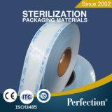 China-Hersteller der Heißsiegelfähigkeit-Sterilisation-flachen Bandspule