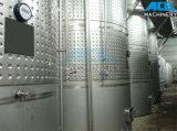 Réservoir sanitaire en vinyle à bière en acier inoxydable pour fermentation (ACE-FJG-H2)
