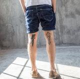 Pantaloni di scarsità dei jeans di modo degli uomini lavati svago sottile originale semplice su ordinazione classico