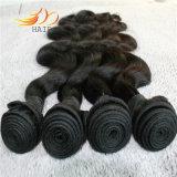 Capelli non trattati dell'onda del corpo dei capelli umani del Virgin del Mongolian del commercio all'ingrosso 100%