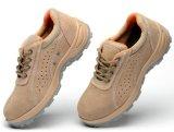 Ботинки безопасности высокой пятки повелительниц поставщика дешевые оптовые кожаный