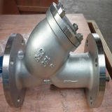 Rosca de aço inoxidável Y da Válvula do filtrador (GL11W)