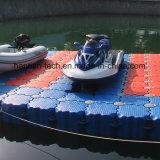 Muelle acuático flotante pontón para el ocio barco y granja de peces