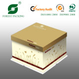 Fabricante China elegantes cajas Torta de papel en China