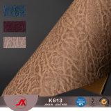 Tessuto di cuoio resistente del PVC dell'abrasione della fabbrica per i sacchetti materiali