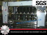 Dentro de 5 galones automático fuera de 2-en-1 de la máquina de limpieza de cepillado