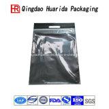 Modificar el bolso de empaquetado de la camiseta para requisitos particulares del papel de aluminio de la cremallera