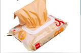 安い芳香のプラスチック赤ん坊のおむつのタイが付いているプラスチックおむつ袋