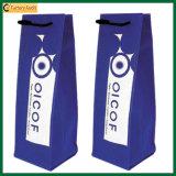 Il pacchetto della bottiglia insacca il singolo sacchetto non tessuto del vino (TP-WB095)