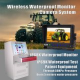 農場トラクター、コンバイン、カルチィベーター、すき、トレーラー、トラックのための無線防水カメラシステム