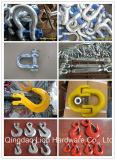 中国の製造業者のホックおよび亜鉛によってめっきされる指ぬきの索具