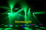 6PCS 8 bewegen toont de LEIDENE van Ogen RGBW 4 In1 Spin die het HoofdLicht van de Straal voor de Nachtclub van het Stadium van de Disco
