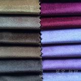 Kurzes Stapel-glänzendes Velour-Polyester-Poliergewebe für Sofa