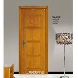 Conceptions modernes et composée de portes en bois