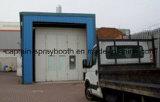 Talla modificada para requisitos particulares carro de la cabina de aerosol, sitio de pintura