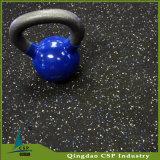 8mm schwarzer Gummibodenbelag für Gymnastik-Eignung