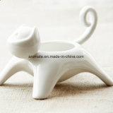 Home Decorativo em forma de gato Suporte de luz bonito para chá (CC-10)