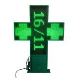 P20 + singolo segno della traversa della farmacia di verde LED di RF/RS232/WiFi +Outdoor+ due Sides+ Animationer