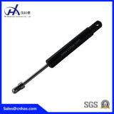 長い金属ピストン棒が付いている中国のガスの支柱かガスばね