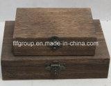 Peinture à la main personnalisée Boîte en bois massif pour décoration intérieure
